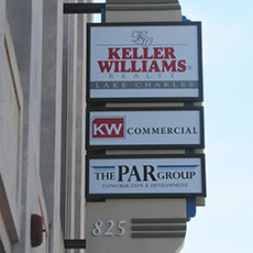 Keller William Custom Sign