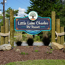 Little Lake Charles Custom Sign